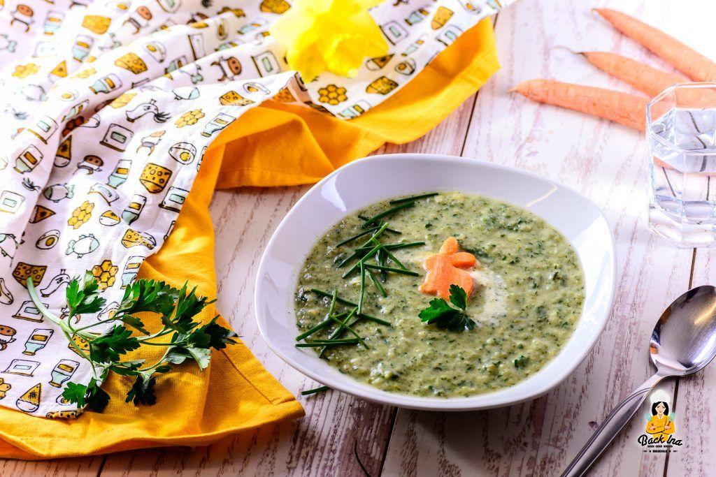Suppe als Vorspeise zu Ostern: Kräuter-Pastinaken-Suppe