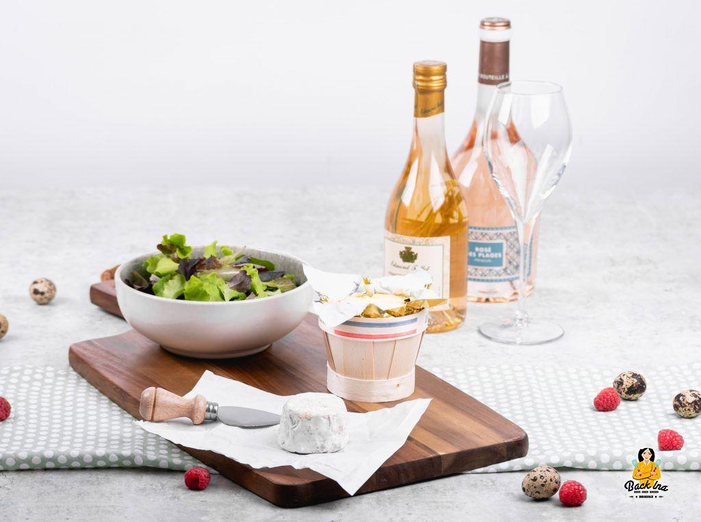 Französische Spezialitäten für ein frühlingshaftes Gericht