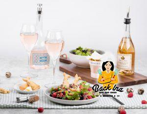 Frühlingshafter Salat mit französischem Ziegenkäse