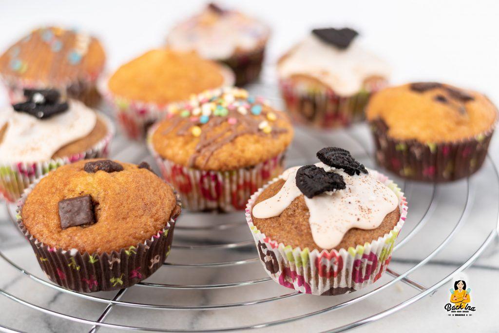 Muffin Grundrezept mit verschiedenen Varianten