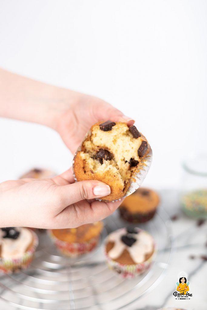 Saftige Muffins dank Öl und Joghurt