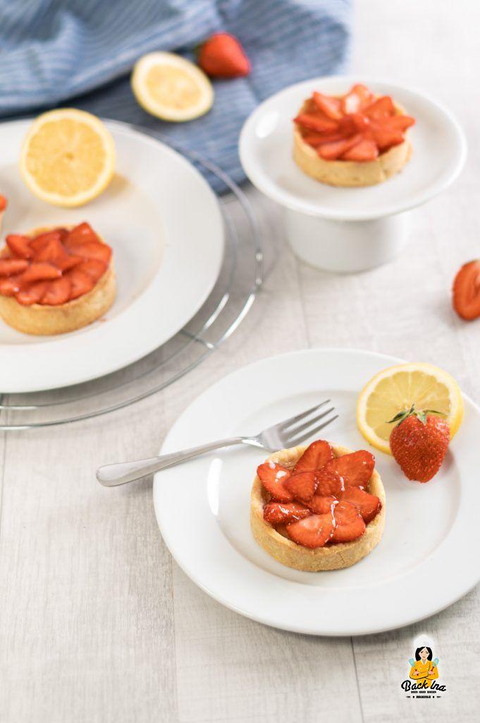 Erdbeer Tartelettes mit Zitrone