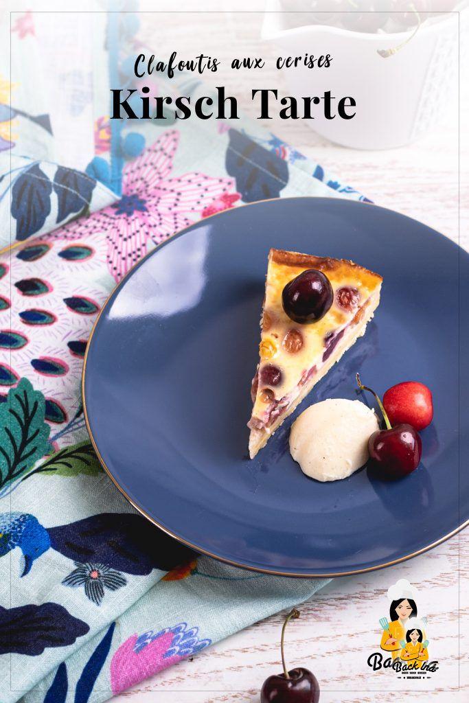 Die französische Alternative zu versunkenem Kirschkuchen! Clafoutis ist ein super saftiger und leckerer französischer Kirschkuchen, der am besten frisch mit etwas Sahne schmeckt. Probier dieses Rezept mit Kirschen aus und lass dich begeistern! | BackIna.de