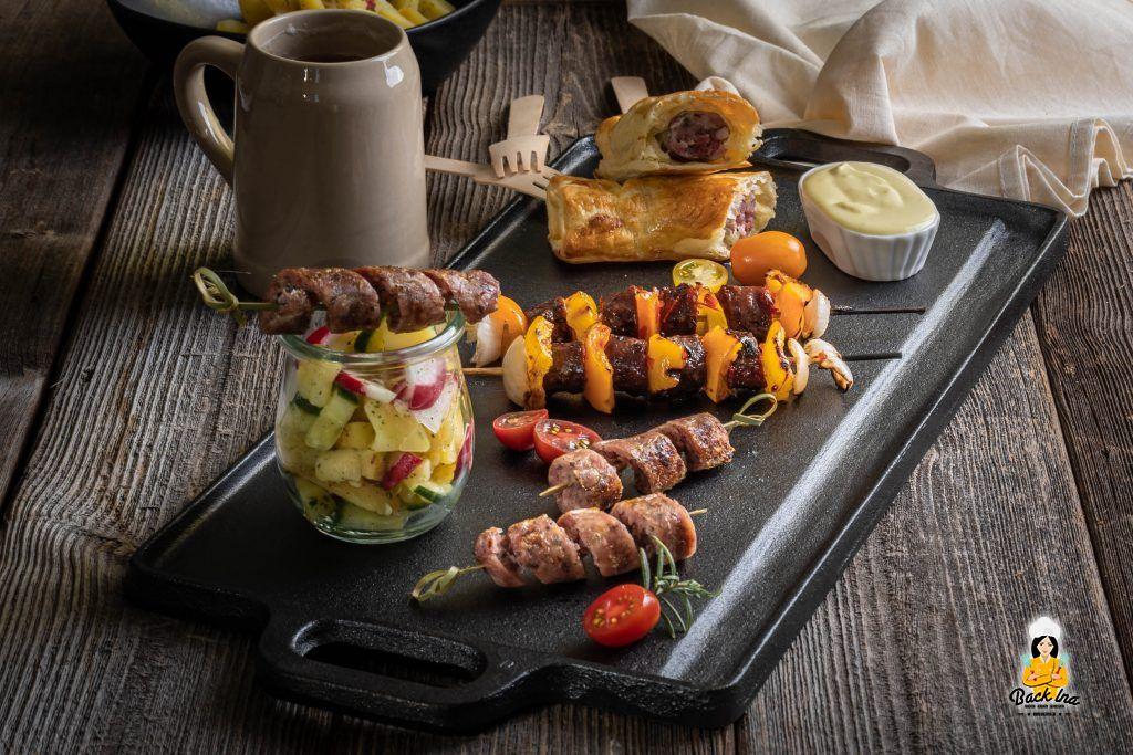 Bratwurst Tapas - fränkische Vorspeise