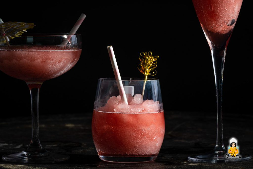 Frozen Rosé - sommerlicher Eiscocktail