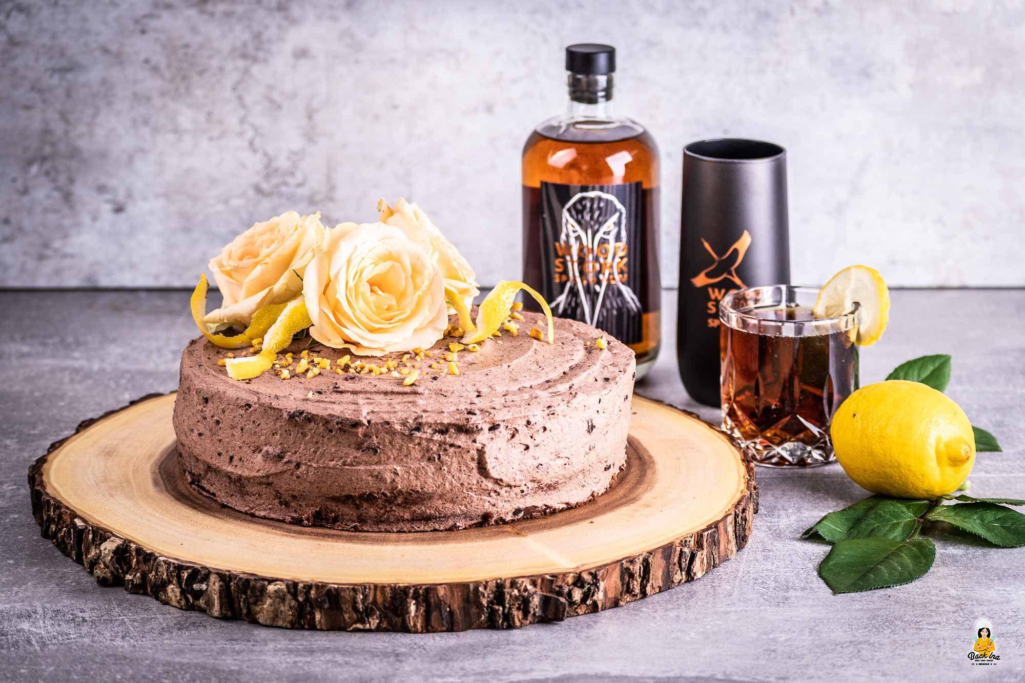 Cuba Libre Torte: Schoko-Cola-Rum-Torte | BACKINA