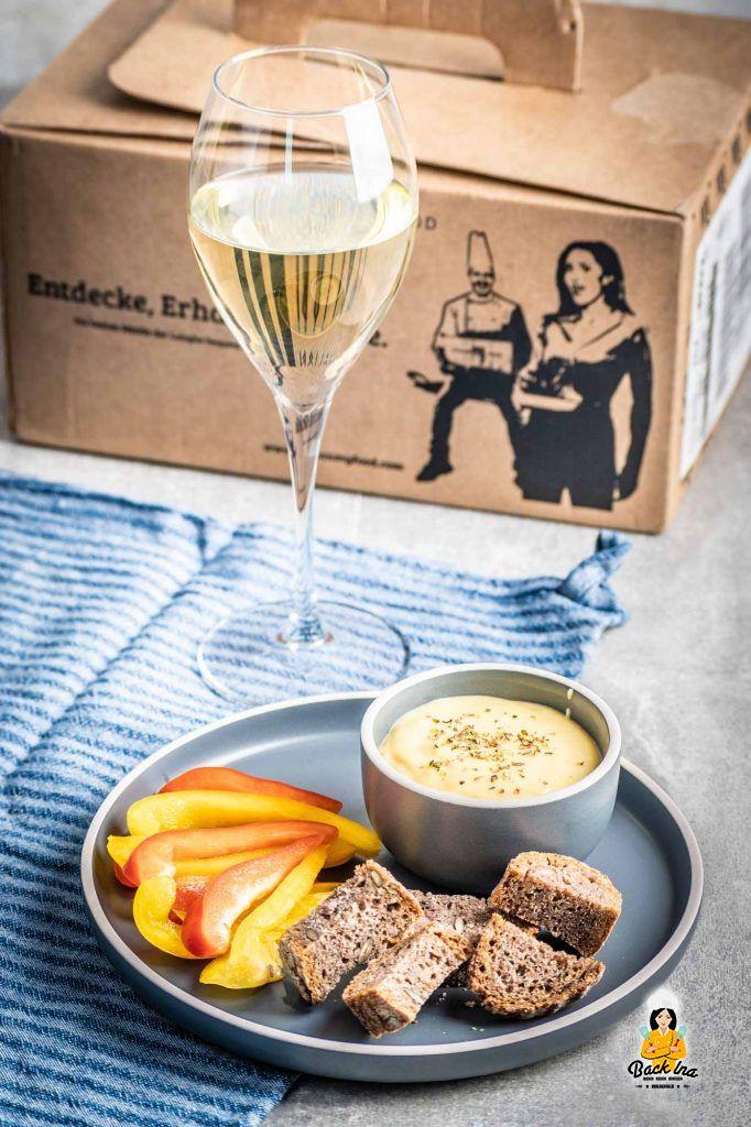 Piemontesisches Käsefondue aus der Italianmyfood Box