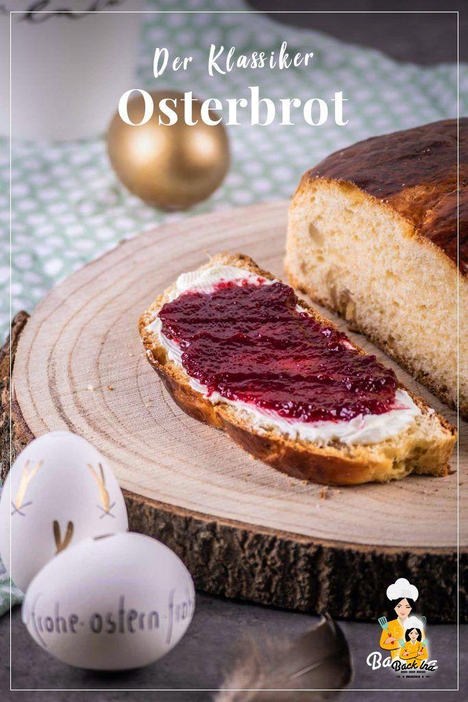 Perfekt für die kleine Runde zu Ostern: Mini Osterbrote mit Marzipan und /oder Rosinen sind schnell gemacht und schmecken lecker zum Osterkaffee. Probiere dieses Hefegebäck zu Ostern aus!   BackIna.de