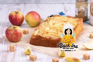 Karamell-Apfelkuchen